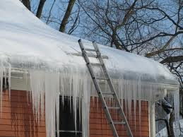 Costly ice dams on this MD home